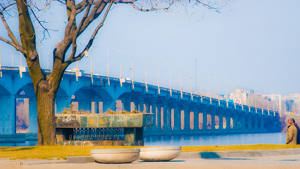 Bridge in Dnepropetrovsk