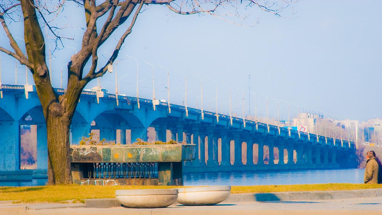 Bridge in Dnepropetrovsk