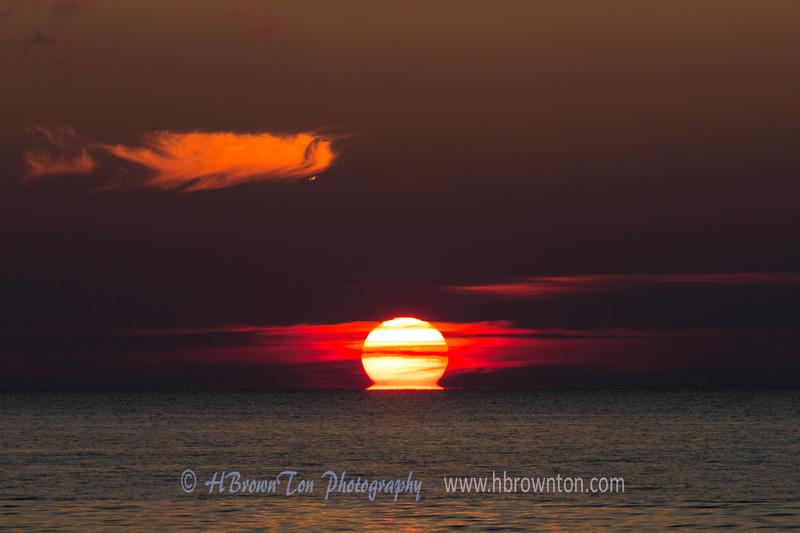 Sunset at Sister Bay