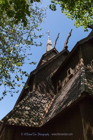 Washington Island Stavkirke (Stave Church)