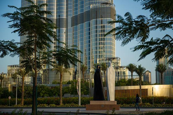 Watching The Burj Khalifa