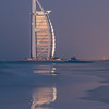 February 9th - The Burj al Arab at dusk.