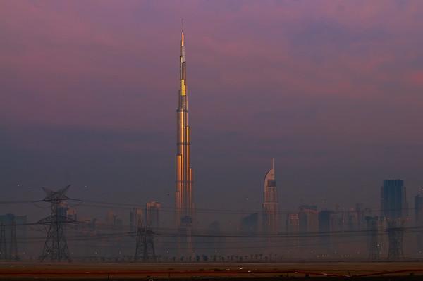 Early Morning Glow at the Burj Khalifa