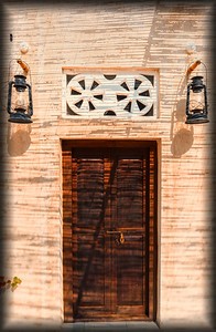 Door to Happiness at the XVA Hotel, Dubai, UAE