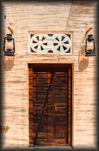 Door to Happiness at the XVA Hotel, Dubai, UAE