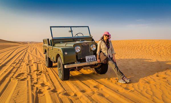 Rest Stop - Dubai Desert, UAE