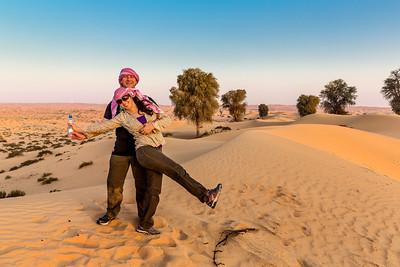 Water Bottle Commercial - Desert outside of  Dubai, UAE