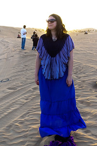 Susanne in the desert