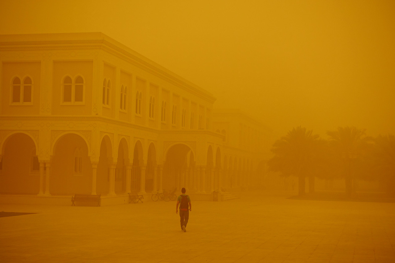 Sandstorm over Sharjah