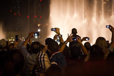 Musical Fountain, Bhurj Khalifa, Dubai
