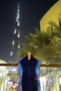 Susanne and the Burj al Khalifa