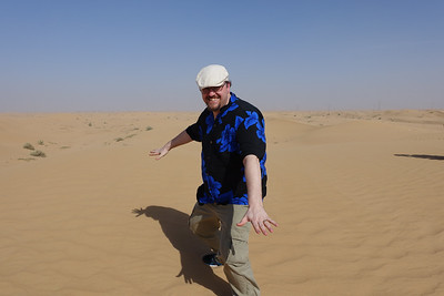 Me in the desert