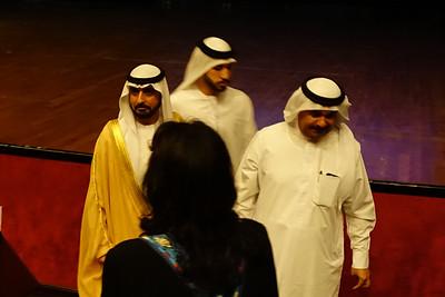 Guest of honor: Sheikh Mohammed bin Saud bin Sultan Al Qasimi