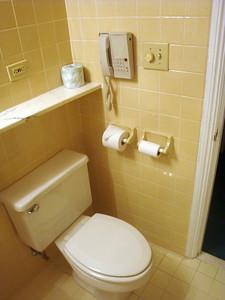 Raleigh hotel restroom