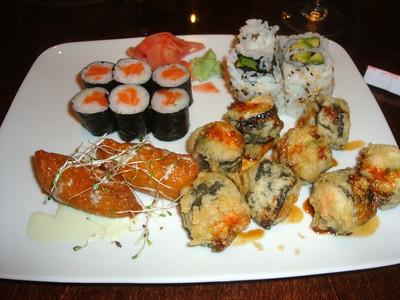 Spectacular sushi