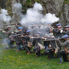 Historical reenactment, Dumbarton Rock.<br /> 24th March 2012
