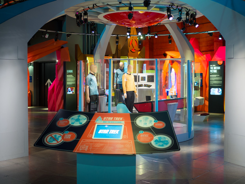 Star Trek expo at EMP Museum, Seattle