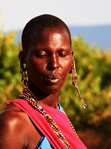 Masai Woman 2