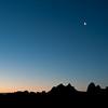 Crescent Moon<br /> Alabama Hills, Eastern Sierras, California<br /> 2009