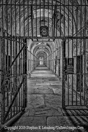 The Gates of Hell Eastern State Penitentiary B&W V 2Oct 16 2013 20131016_3649