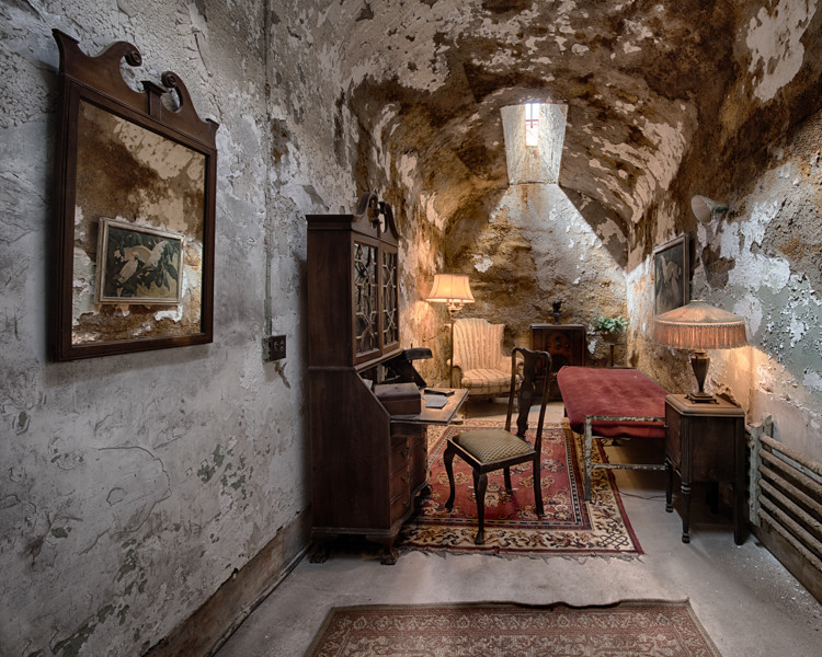 All Capone's cell.