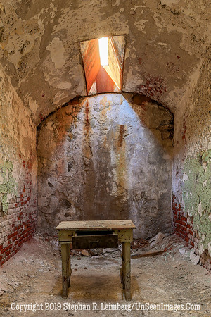 Room with Table Eastern State Penitentiary Oct 18 2013 20131018_4397