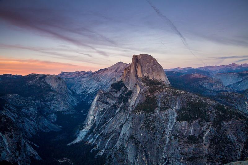 2016_10_12 Yosemite Glacier Point view of Halfdome-6