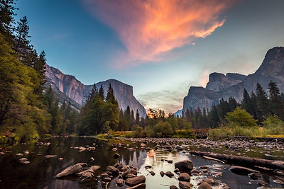 2016_10_12 Yosemite Valley at Merced River-40-HDR