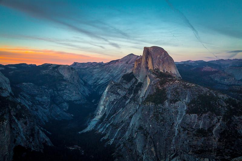 2016_10_12 Yosemite Glacier Point view of Halfdome-15