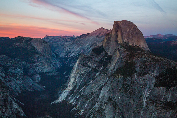 2016_10_12 Yosemite Glacier Point view of Halfdome-33