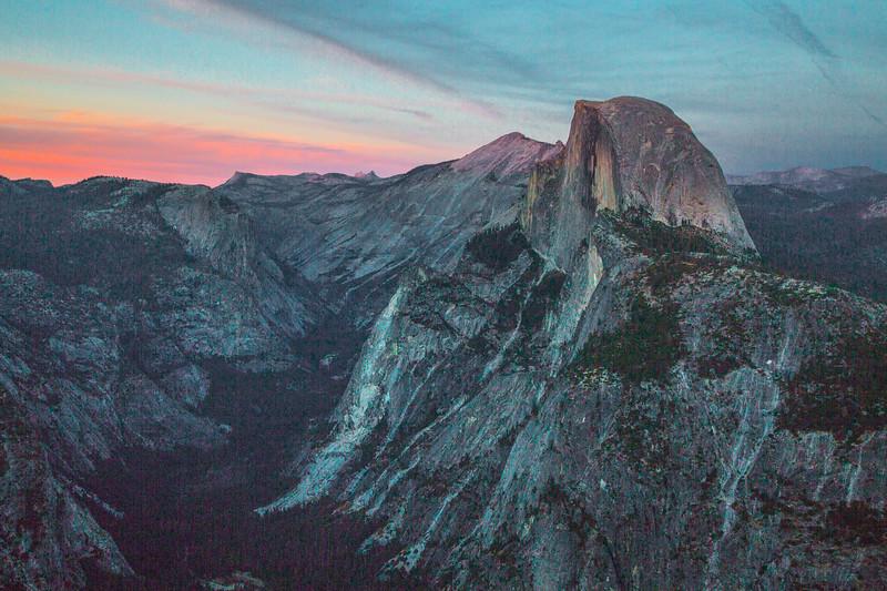 2016_10_12 Yosemite Glacier Point view of Halfdome-29