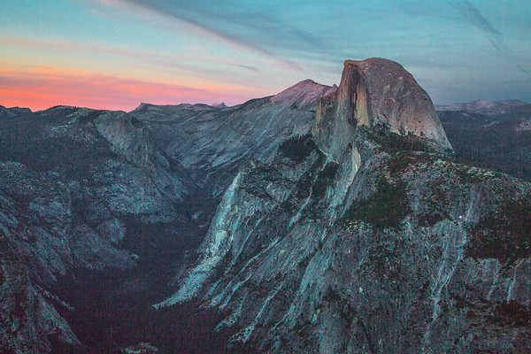 2016_10_12 Yosemite Glacier Point view of Halfdome-29