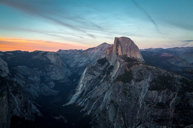 2016_10_12 Yosemite Glacier Point view of Halfdome-15-2