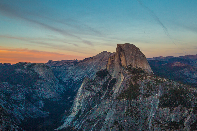 2016_10_12 Yosemite Glacier Point view of Halfdome