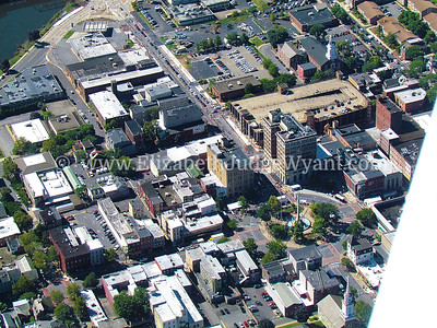 Downtown Easton Aerial