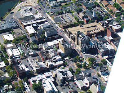 Downtown Easton Aerial