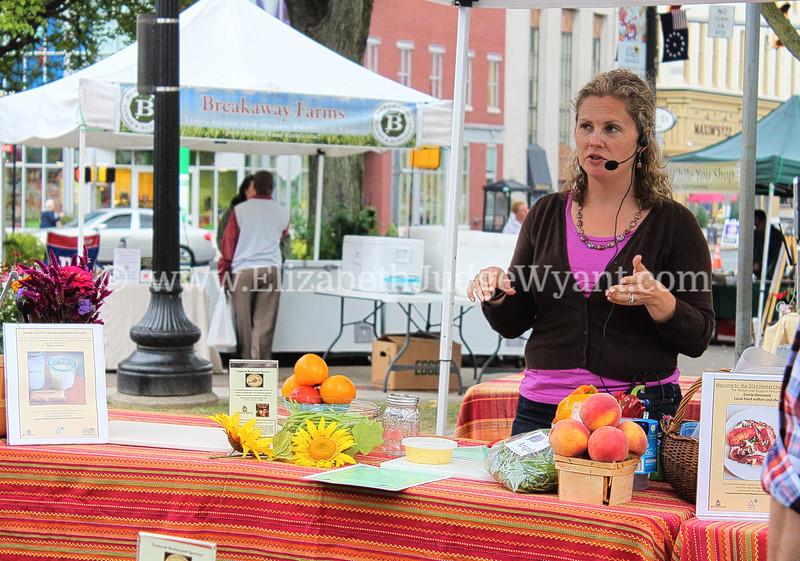 Easton Farmers' Market Cooking Demo 9/24/2014