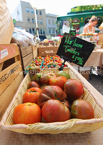 Easton Farmers' Market Tomato Day, Easton, PA 8/19/17