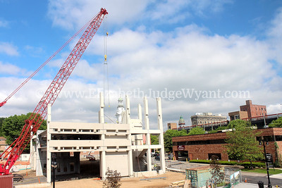 New parking garage construction begins