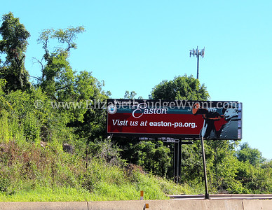 New digital billboards featuring Easton