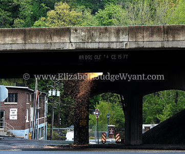 Rt 22 Bridge repairs & repainting begin