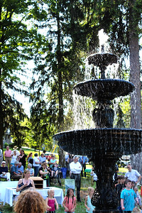 Nevin Park Fountain rededication