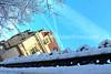 Snowy Simon Mansion, Easton, PA 2/4/2014