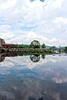 Reflection on Lehigh River, Easton, PA 5/23/2013