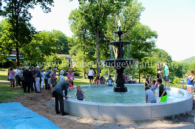 Nevin Park Fountain dedication 6/24/2014
