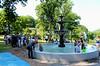 Nevin Park Fountain dedication 6/24/2014