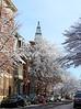 Snowy Scene, Spring Garden St, Easton, PA  2/4/2014