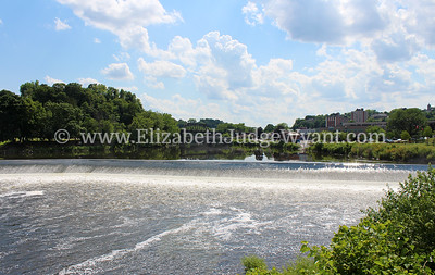 Lehigh River Dam Easton PA 7/11/2014