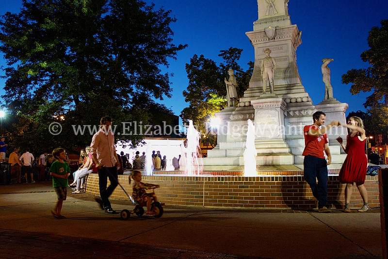 Dancing in the Square, Easton, PA 7/26/2013