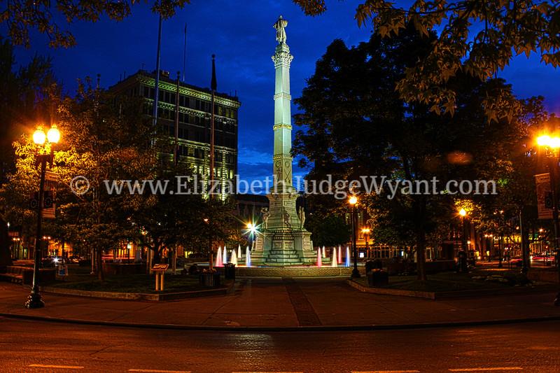 Night Monument